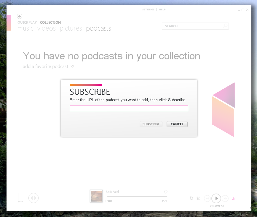 Используем Zune Software, как программу для прослушивания подкастов и коллекционирования музыки