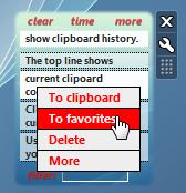 Clipboard Manager - полезный виджет для Windows Vista/7 (2)