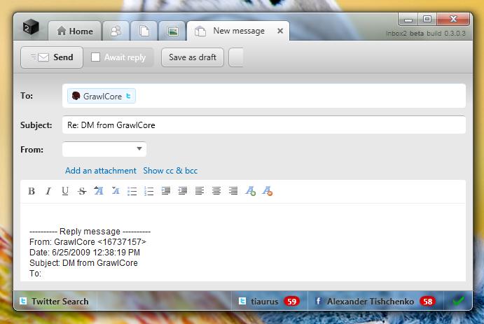 Inbox2 - новый взгляд на почту (2)