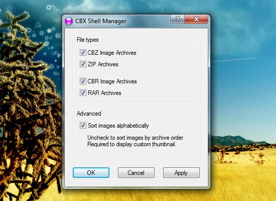 Как показать изображения в архивах