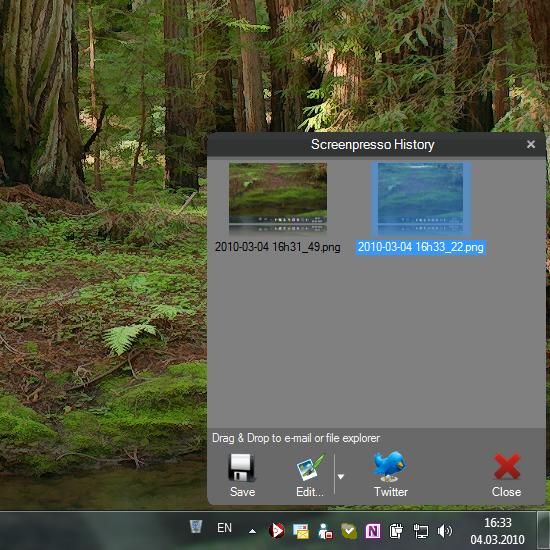 Портабельный скриншотмейкер Screenpresso
