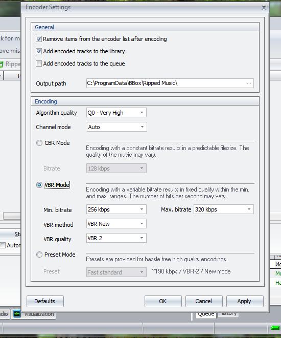 BBox Player - программа для прослушивания музыки и интернет-радио