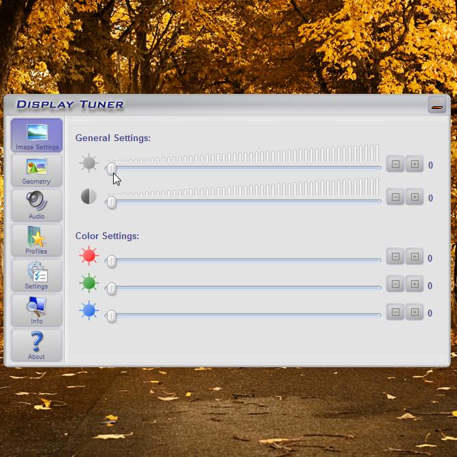 Display Tuner - программа, контролирующая монитор