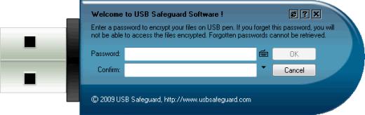USB Safeguard - программа для создания зашифрованной флешки