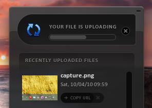 Uploadr - поделись скриншотом одним кликом