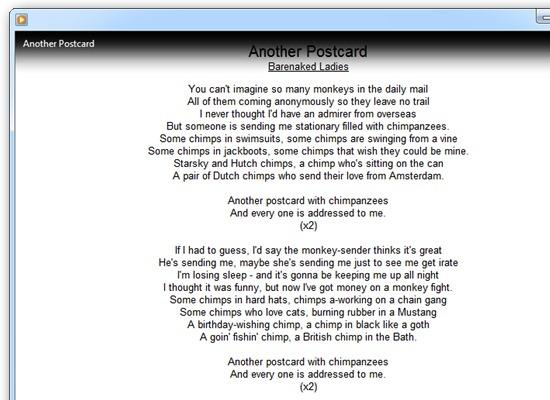 Lyrics Plugin - плагин для отображения текста песен в Windows Media Player (5)