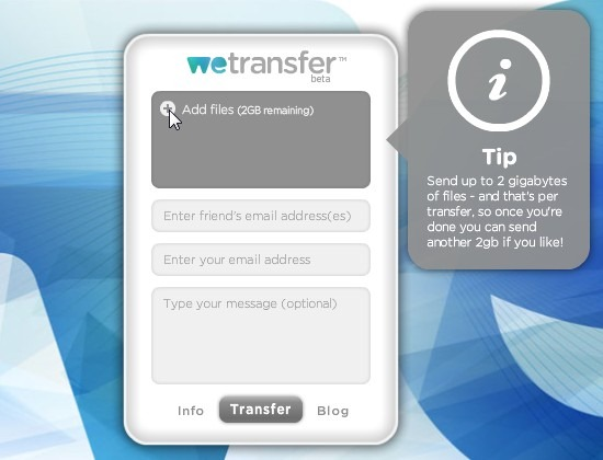 WeTransfer - красивый сервис для обмена большими файлами (10)