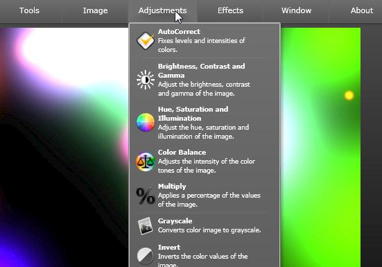 Thumba - онлайновый редактор изображений на Silverlight (2)