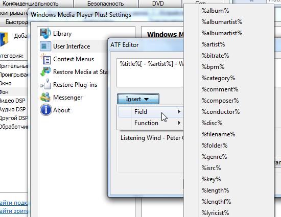 Windows Media Player Plus расширяет возможности популярного плеера (2)
