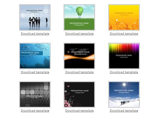 Несколько сайтов с бесплатными шаблонами презентаций PowerPoint
