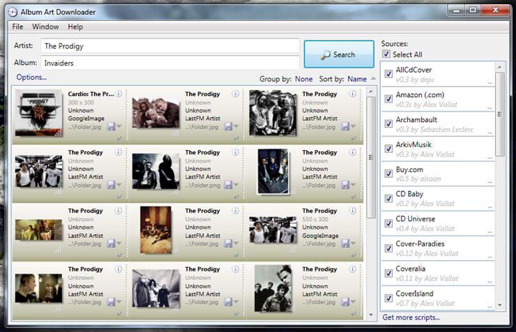 Album Art Downloader поможет найти изображения альбомов для вашей фонотеки