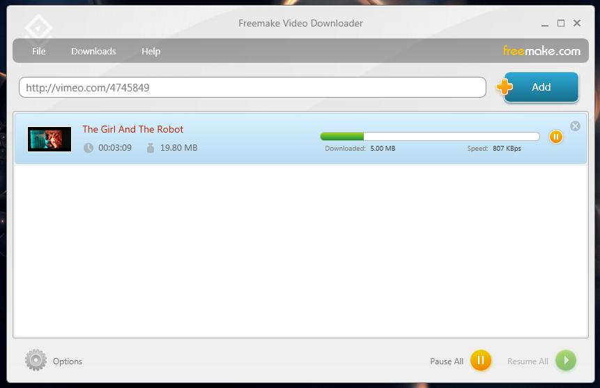 FreeMake Video Downloader - программа для скачивания видео