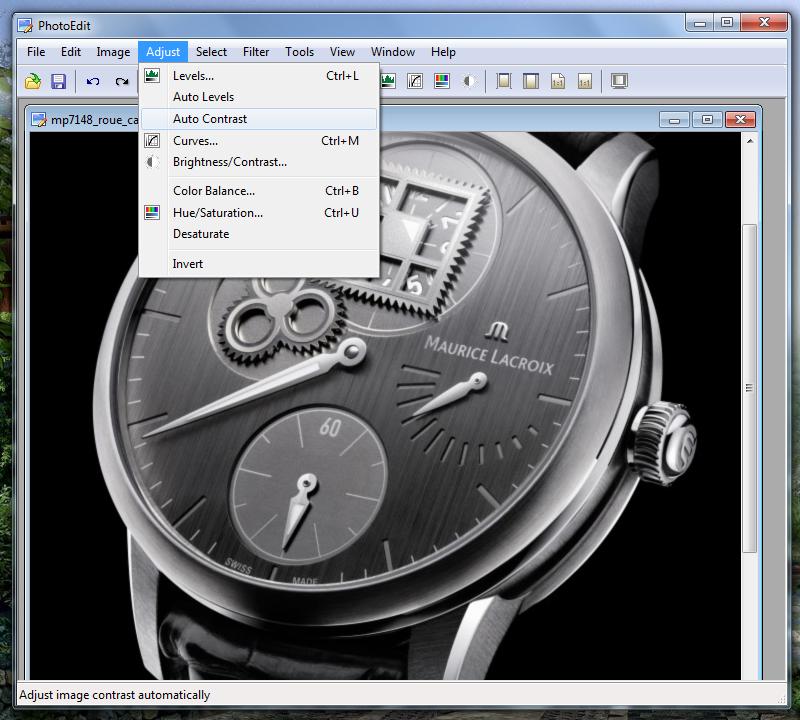 SunlitGreen PhotoEditor - небольшой портабельный редактор изображений