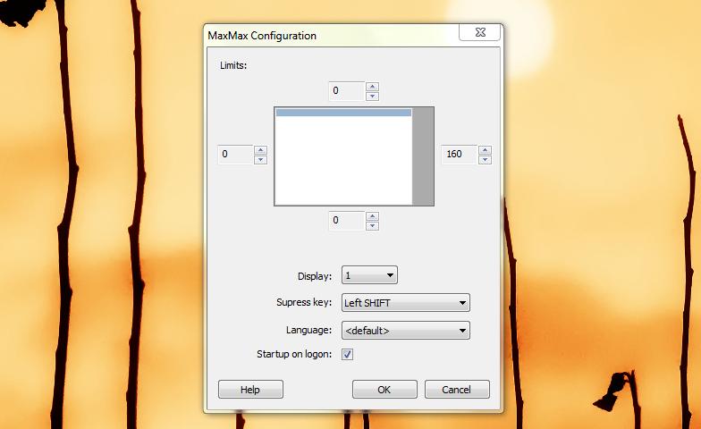 MaxMax – утилита для контроля за открываемыми окнами программ