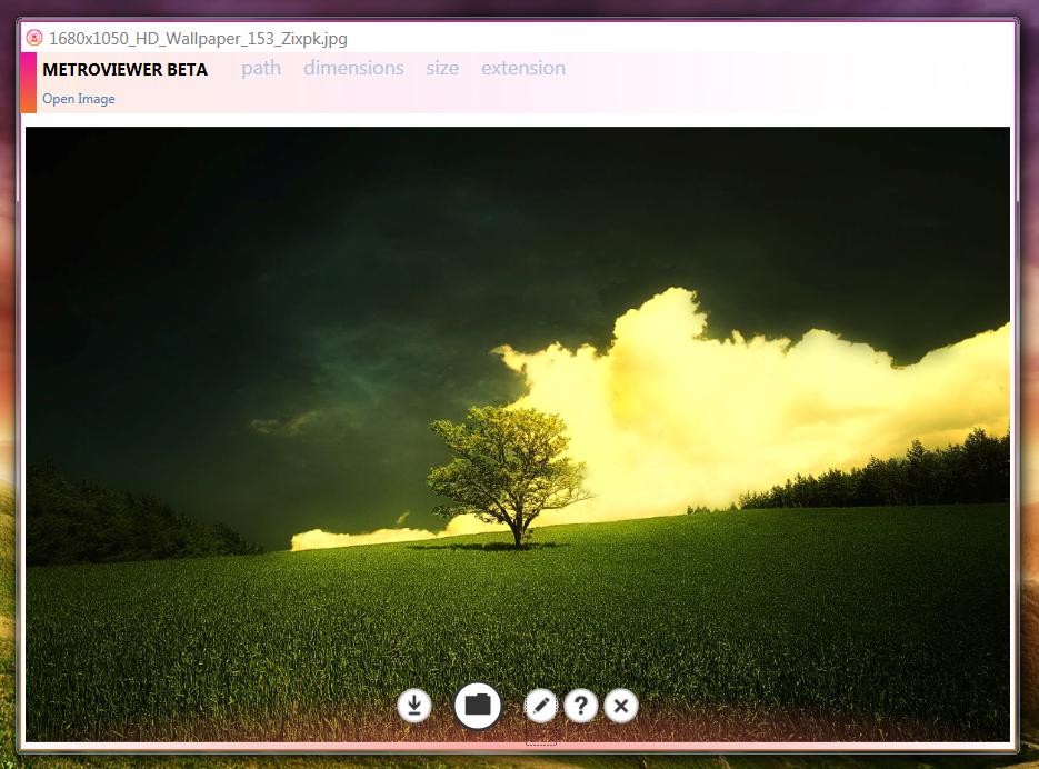 MetroViewer - модный просмотрщик картинок (2)