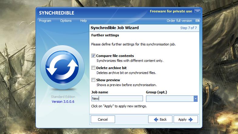 Synchredible - простая программа для автоматической синхронизации данных (3)