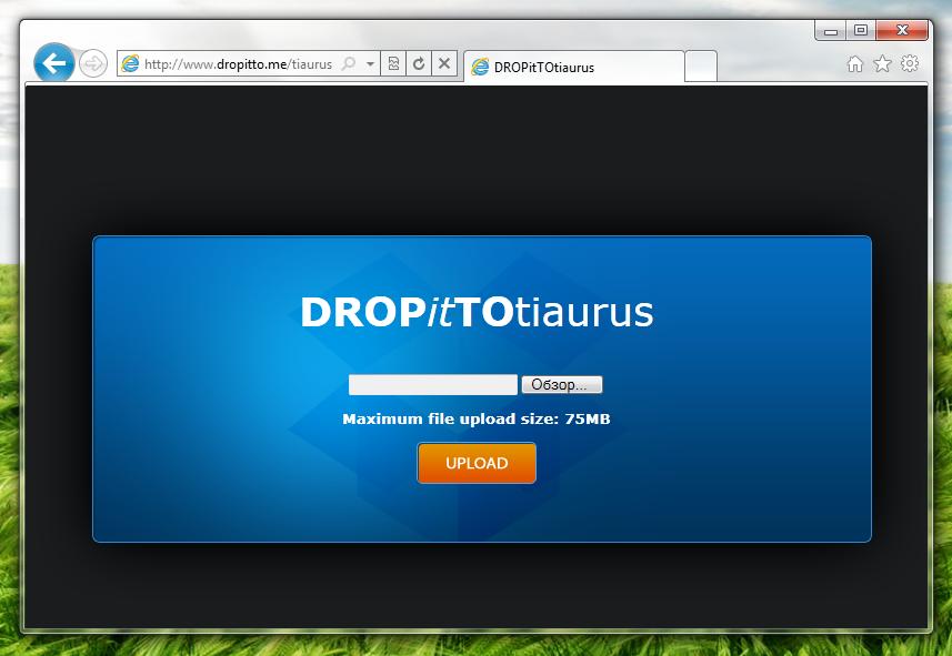 DropItToMe – сервис для быстрой отправки файлов в Dropbox