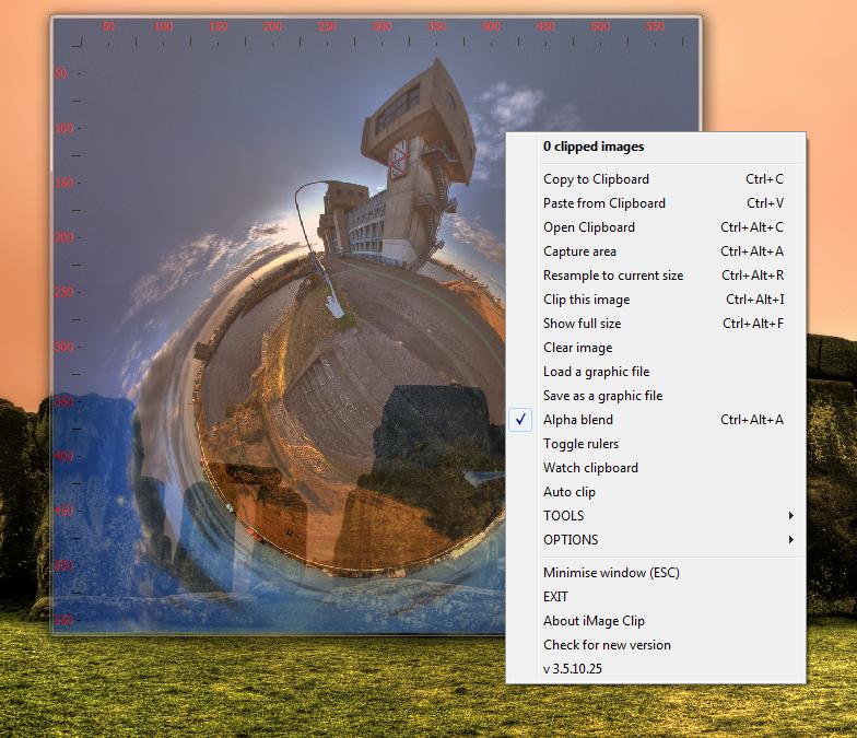 iMage Clip - буфер обмена для картинок с возможностью несложного редактирования