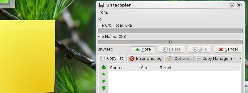 UltraCopier - программа для оптимизации процесса копирования файлов