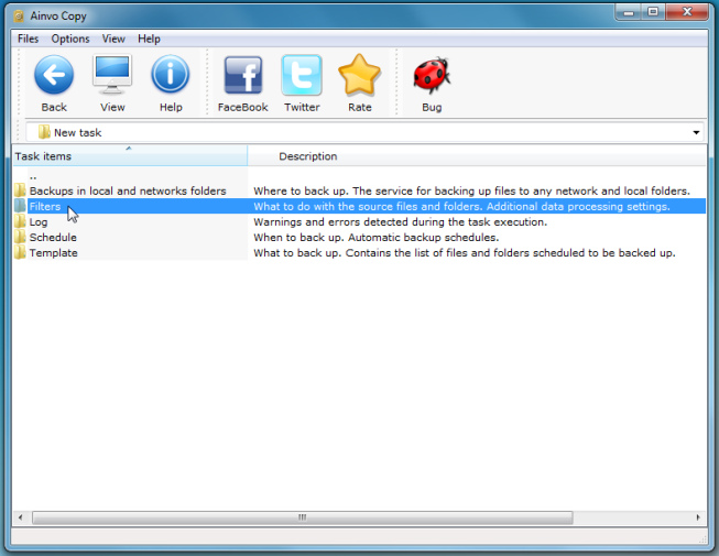 Ainvo Copy - простая программа для резервного копирования важных данных