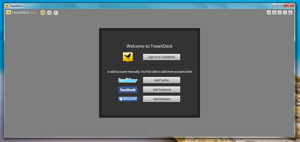TweetDeck — еще больше социальности
