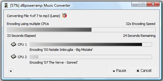 dBpoweramp Music Converter - бесплатный, удобный и мощный конвертер аудио файлов