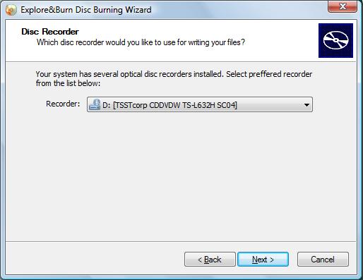 Интегрирование записи дисков в контекстное меню Проводника Windows с помощью Explore&Burn
