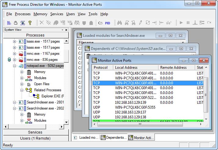 Process Director - контроль над всеми сервисами и запущенными приложениями