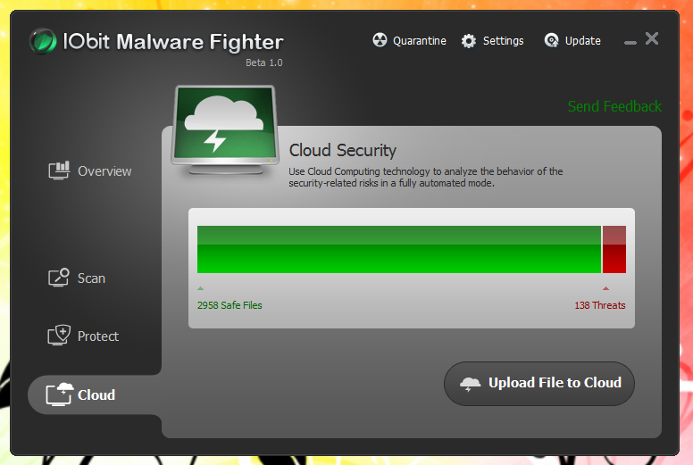 IObit Malware Fighter - борец с компьютерной нечистью