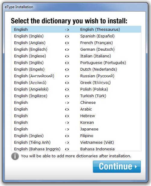 eType - программа для автозавершения и перевода слов в любой программе