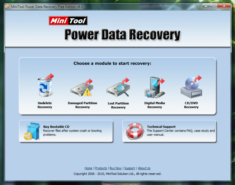 MiniTool Power Data Recovery - универсальная программа для восстановления данных
