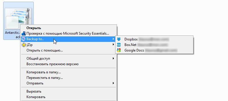 Joukuu - красивый менеджер файлов для Dropbox, Box.net и Googlw Docs