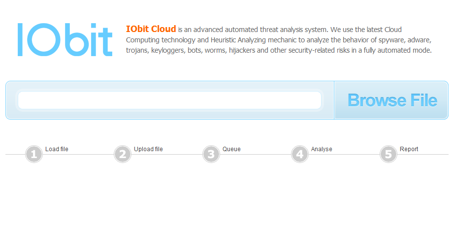IObit Cloud - онлайновый антивирус
