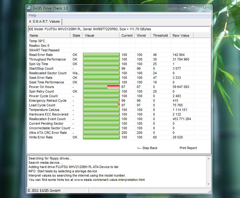 Easis Drive Check - программа для проверки жестких дисков