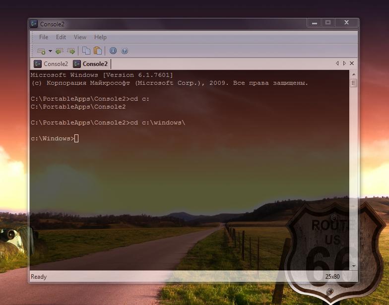 Console - альтернатива стандартной консоли Windows
