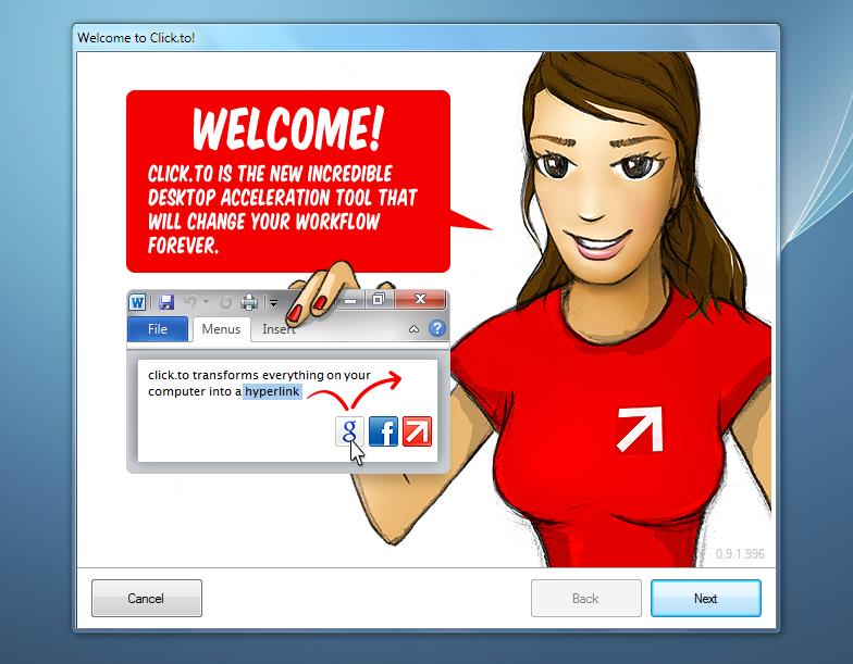 Click.to - альтернативный способ отправлять информацию в приложения и сервисы