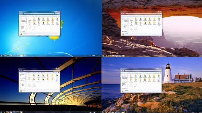AeroRainbow - автоматическая смена цветовой гаммы интернфейса Windows Aero