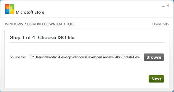 Как создать загрузочную USB-флешку с пре-бета-версией Windows 8 для разработчиков (1)