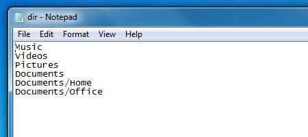 Text 2 Folders создает заранее определенную структуру папок