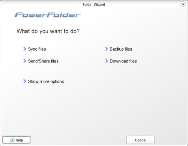 PowerFolder - облачная утилита для хранения и синхронизации файлов