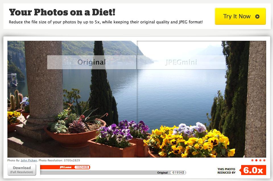 JPEGmini - сервис для эффективного сжатия изображений (2)