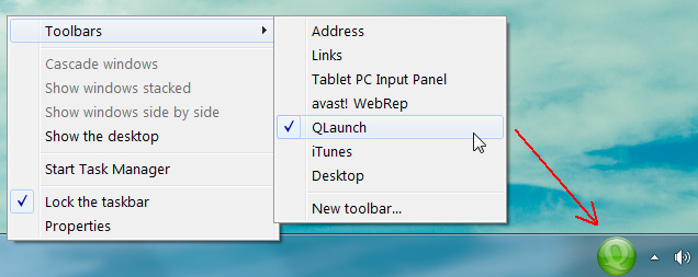 Aero QLaunch - утилита для быстрого запуска программ (4)