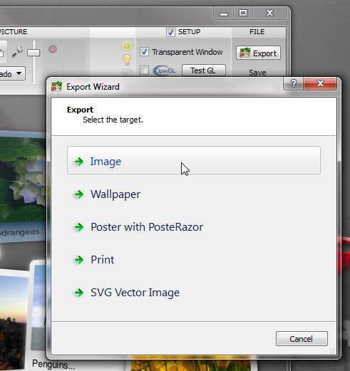 Fotowall - красивая портабельная программа для создания фотоколлажей