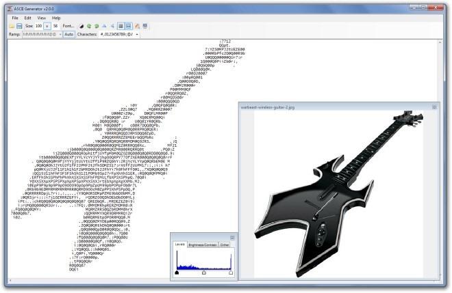 ASCII Generator - утилита для создания текстовой графики из изображений (2)