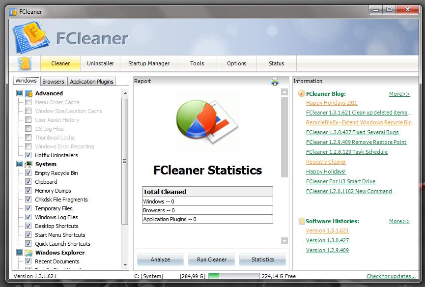 FCleaner - программа для поддержания системы в чистоте и порядке (6)