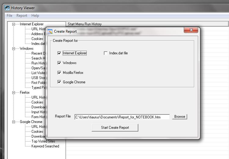 History Viewer - удобная утилита для просмотра истории открытых окон и посещенных сайтов (3)