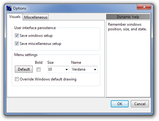 Launcher - быстрый запуск приложений и файлов из трея (2)