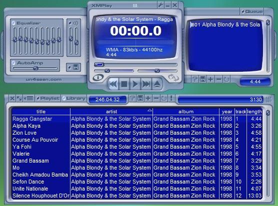 XMPlay - миниатюрный портабельный аудио плеер с поддержкой всех форматов (2)