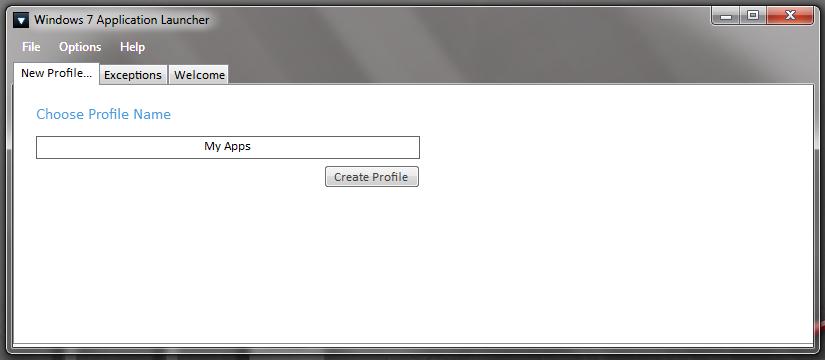 Windows 7 App Launcher - запуск набора приложений одним кликом (4)