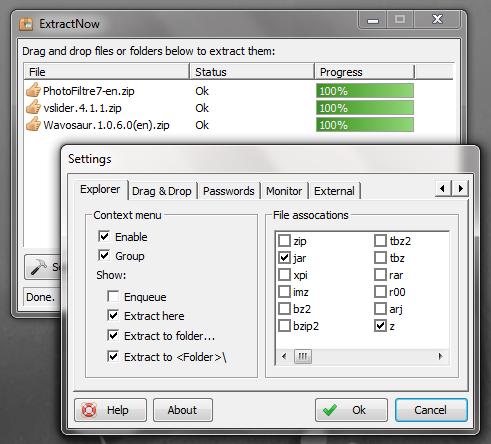 ExtractNow - портабельный анти-архиватор (1)